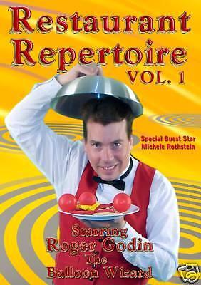 Restaurant-Repertoire-1-DVD-Learn-Balloon-Modeling-Twisting-Sculpting