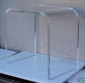 34 clear acrylic lucite plexiglass end table lucite acrylic lucite furniture