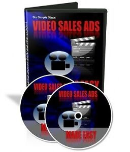 Video Sales Ads Made Easy On Cd