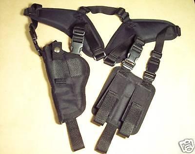 Left Hand Vertical Shoulder Holster Beretta 92 / 96 Usa