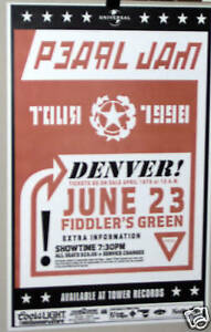 PEARL-JAM-Beer-Tour-Denver-Co-Show-Poster-Eddie-Vedder