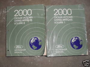 2000 ford crown victoria mercury grand marquis service. Black Bedroom Furniture Sets. Home Design Ideas