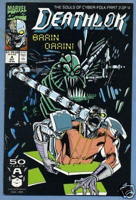 Deathlok #4 1991 Marvel Comics