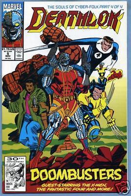 Deathlok #5 1991 Marvel Comics