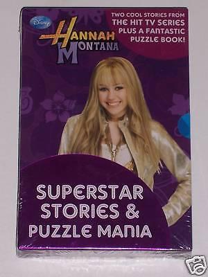 HANNAH MONTANA SUPERSTAR STORIES & PUZZLE MANIA