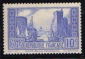 FRANCE-1929-31-Y-amp-T-261b-PORT-DE-LA-ROCHELLE-NEUFxx-TTB