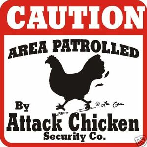Caution-Attack-Chicken-Sign-Many-Bird-Farm-Animals
