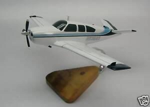 V-35-B Bonanza Beechcraft V35 Airplane Desktop Wood Model Regular New