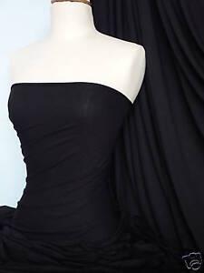 Black-viscose-cotton-stretch-lycra-fabric-material
