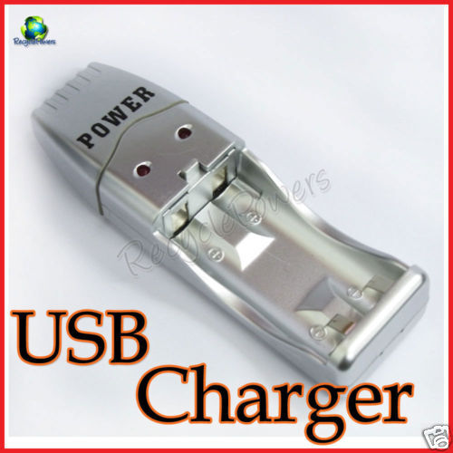 USB Battery Charger for AA AAA rechargeable battery