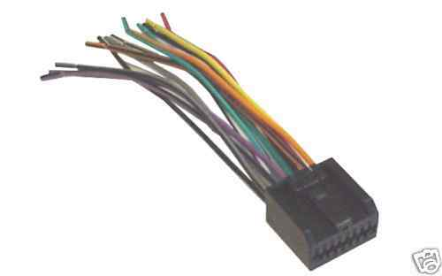 Factory Stereo Radio Replacement Wiring Harness Fits