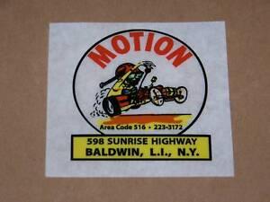 67-THRU-76-BALDWIN-MOTION-DECAL-L-k-RARE-RATFINK