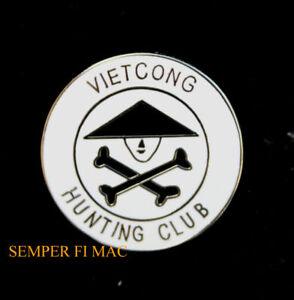 VIETCONG-HUNTING-CLUB-HAT-PIN-VIETNAM-VETERAN-US-NAVY-ARMY-AIR-FORCE-MARINES
