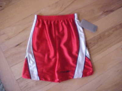Reebok Red - White - Blue Basketball Shorts Sz 4