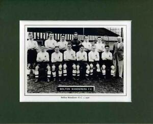 MOUNTED-FOOTBALL-TEAM-PRINT-BOLTON-WANDERERS-1936