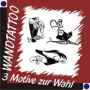GEIER-Wandtattoo-Wandaufkleber-Aufkleber-Deko-30-cm