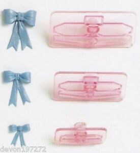 NEW JEM Set of 3 Bow Cutters - Cake Decorating, Cupcake