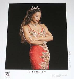 Wwe Sharmell P 1111 Official 8x10 Licensed Promo Pic