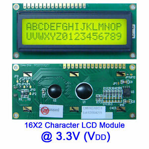 Topway-3-3V-1602-16X2-162-Character-LCD-Module-Display-Screen-LCM-w-Backlight