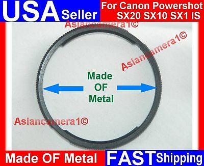Metal Adapter Ring For Canon Powershot Sx20 Sx10 Sx1 Is