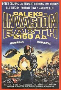Daleks-Invasion-Earth-2150-Dr-Who-Movie-Poster-A3-print