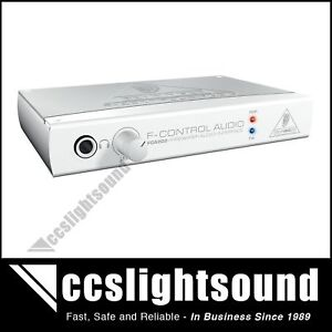 BEHRINGER FCA202 FIREWIRE COMPUTER AUDIO INTERFACE