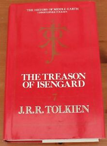 THE-TREASON-OF-ISENGARD-HoME-7-Tolkien-True-1st-1st-HB-RARE-FINE-Clean