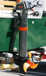 Pontoon boat motors ebay for Electric trolling motor for pontoon