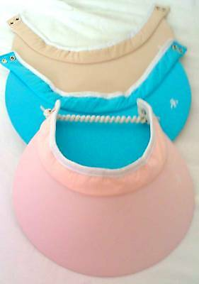 Ladies Golf Visorsnew-3 In 1 Golf Visors (one Lace) -special Offer 3 Colours