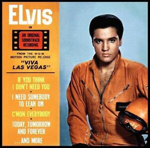 ELVIS-PRESLEY-VIVA-LAS-VEGAS-D-Remaster-SOUNDTRACK-CD-60s-NEW