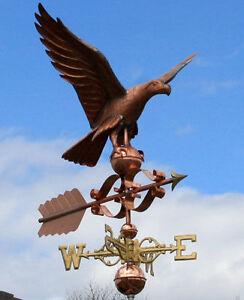 AMAZING-COPPER-EAGLE-WEATHERVANE-MADE-IN-USA-416F