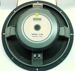 altec lansing 3156 16 lf woofer bass speaker 8 ohm 250w ebay. Black Bedroom Furniture Sets. Home Design Ideas