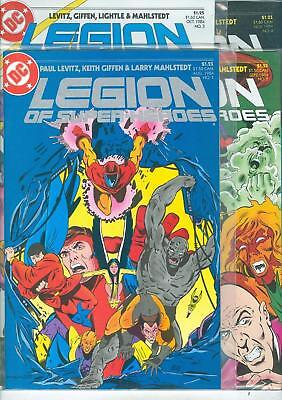 Legion of Super-Heroes lot #1-9 - 1984