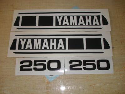 1979 Yamaha Yz 250 Gas Tank & Side Panel Decals