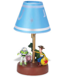 Toy-Story-Animated-Talking-Lamp-w-Buzz-Lightyear-amp-Woody