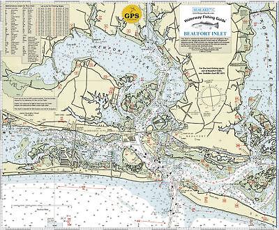 Sealake North Carolina Beaufort Inlet Fishing Chart