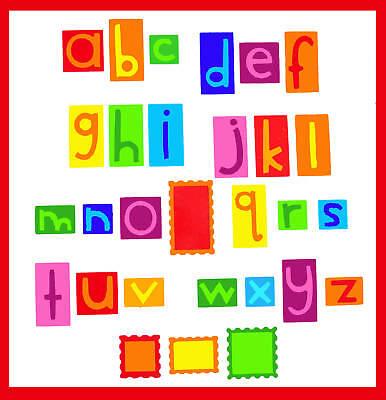 Sizzix Vowel Play Alphabet 38-1092 & Number Set,38-1093 Complete Set