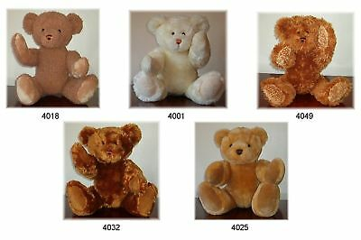 TRADE OFFER 20 x NEW TRADITIONAL LINDON JOINTED TEDDY BEARS 16inch / 40cm TALL