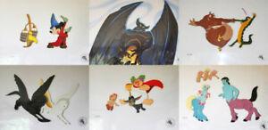 Disney-Fantasia-Set-of-6-Limited-Edition-Cels-1987