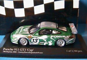 PORSCHE-911-GT3-CUP-13-24-HOURS-DAYTONA-2004-CAWLEY-ESPENLA-1-43-MINICHAMPS