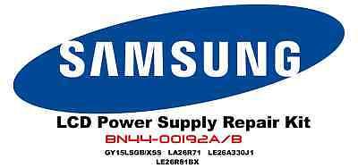 SAMSUNG LCD Power Supply Repair Kit for BN44-00192A /B