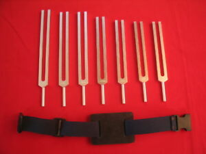 7-Chakra-sound-therapy-Tuning-Forks-for-healing-Pro-Activator-for-Leg