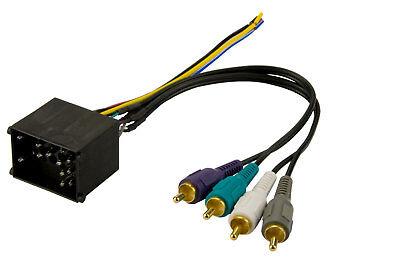 Car Radio Stereo Harman Kardon Sound Integration Wire Wiring Harness Cable Rca
