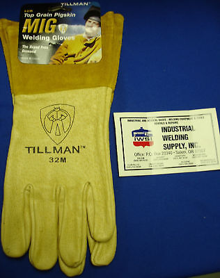 Tillman 32m Premium Tig Gloves Medium Top Grain Pigskin