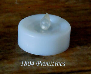 6-Battery-Operated-WHITE-Tea-Lights-PLUS-6-Extra-Batteries