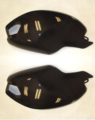 2011 2012 2013 Ducati Monster 696 796 1100 Side Tank Cover Panel Carbon Fiber CF