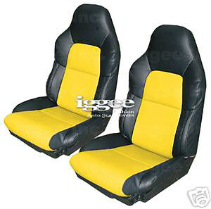 Chevy Corvette C4 1994 1996 Leather Like Seat Cover