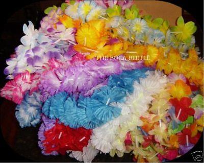 100 Hawaiian Lei Assortment Styles Petals Sizes Nice