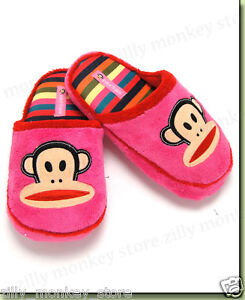 Paul-Frank-Julius-Ladies-Women-039-s-Slippers-Shoes-Pink