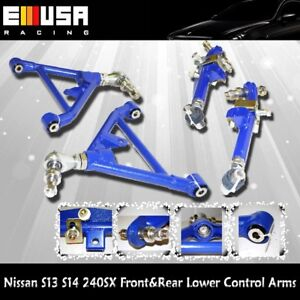 For nissan 240sx 89 1994 s13 1995 1998 s14 front rear for Suspension sdb